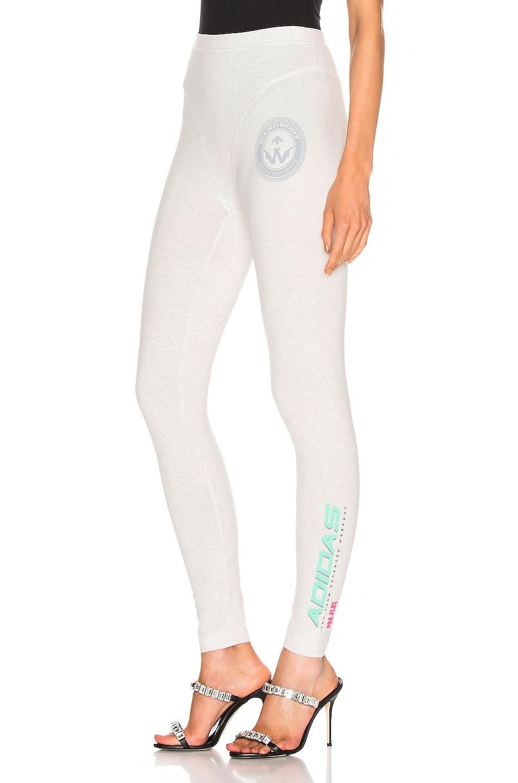 Image 1 of adidas by Alexander Wang 80s Leggings in LGH