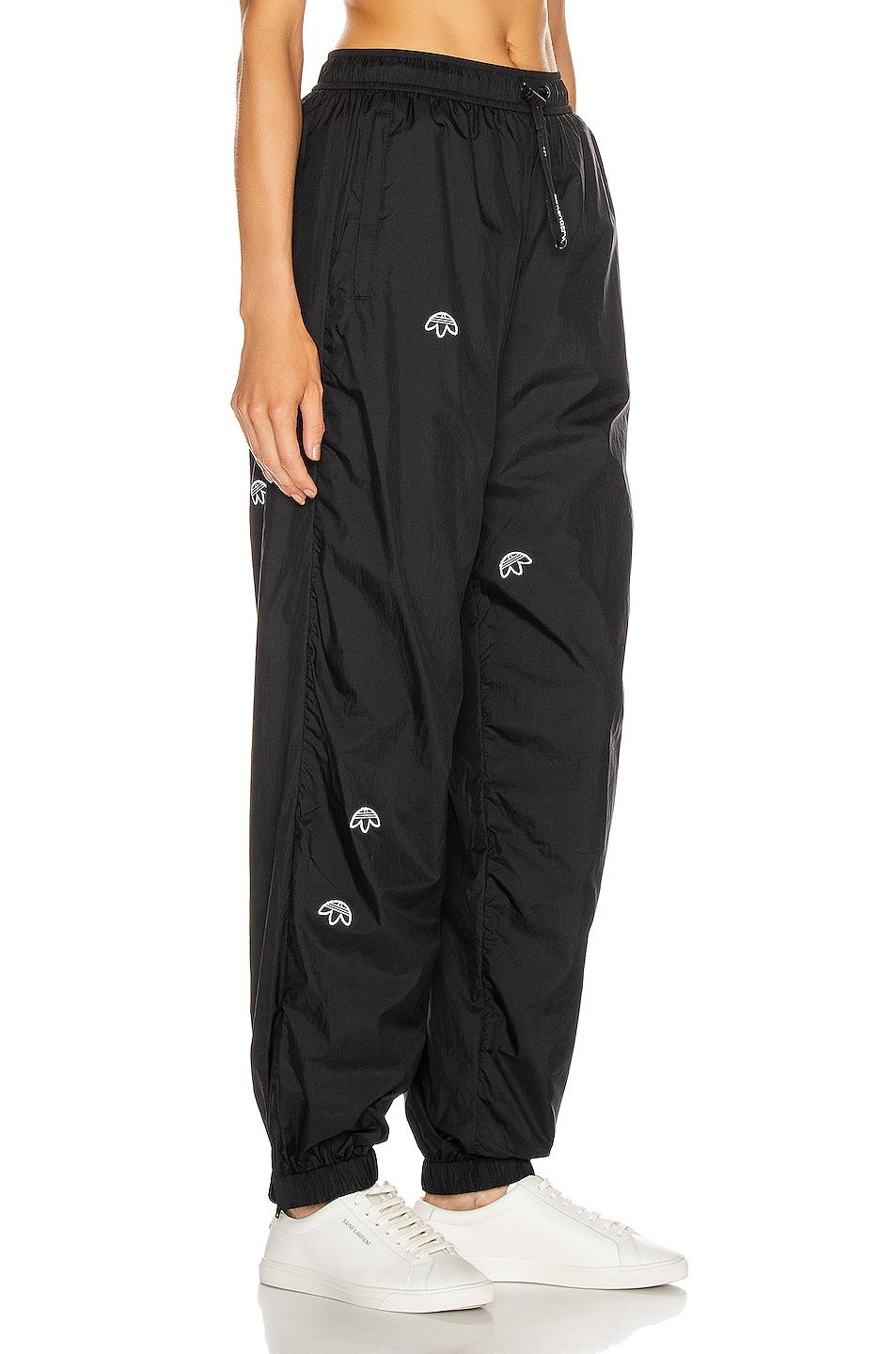 Image 2 of adidas by Alexander Wang Logo Joggers in Black