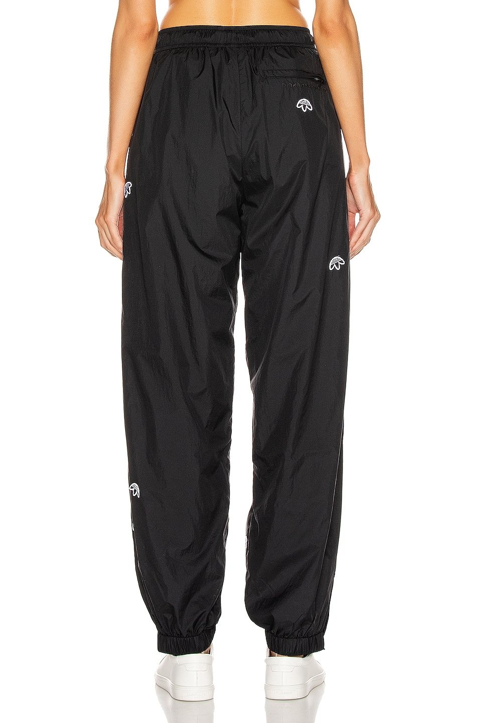 Image 3 of adidas by Alexander Wang Logo Joggers in Black