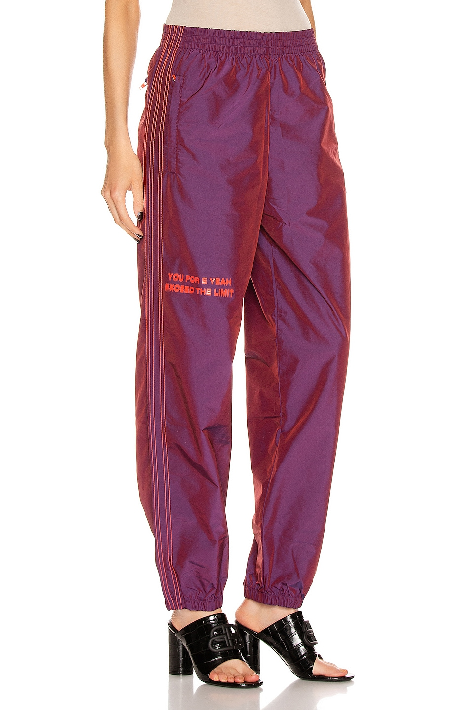 Image 3 of adidas by Alexander Wang 2T Track Pants in Multi Color