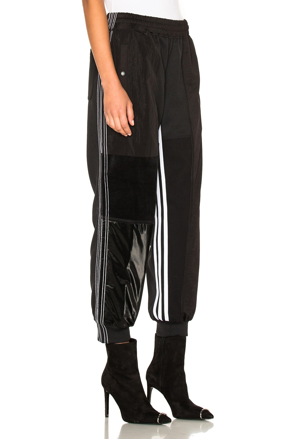 ad16a19e06ad Image 4 of adidas by Alexander Wang Patch Track Pants in Black