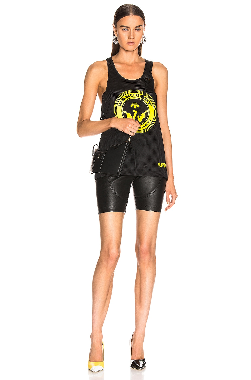 Image 5 of adidas by Alexander Wang Graphic Tank in Black
