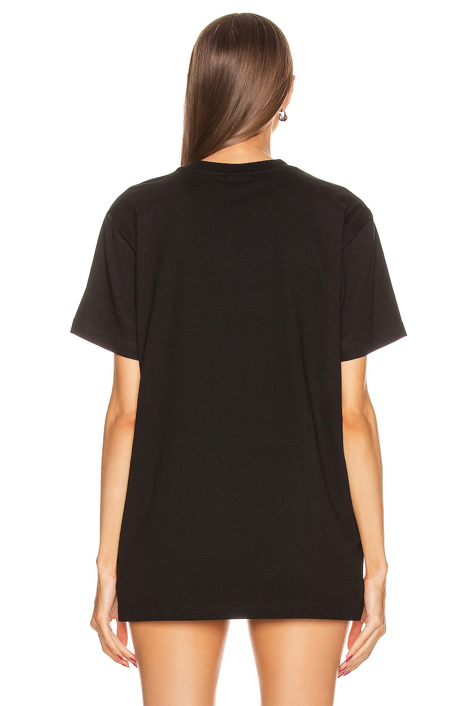 Image 3 of adidas by Alexander Wang Graphic Tee in Black