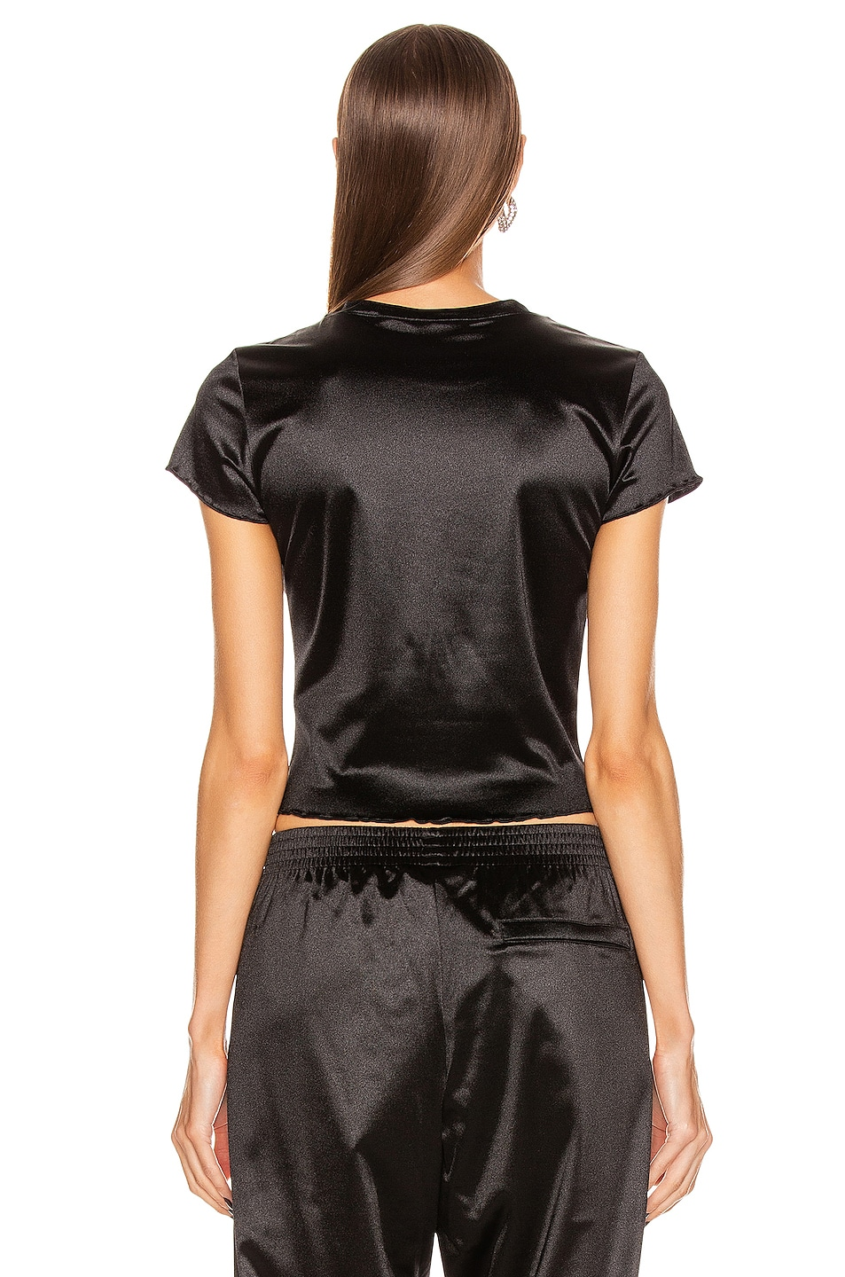 Image 4 of adidas by Alexander Wang AW Tee in Black