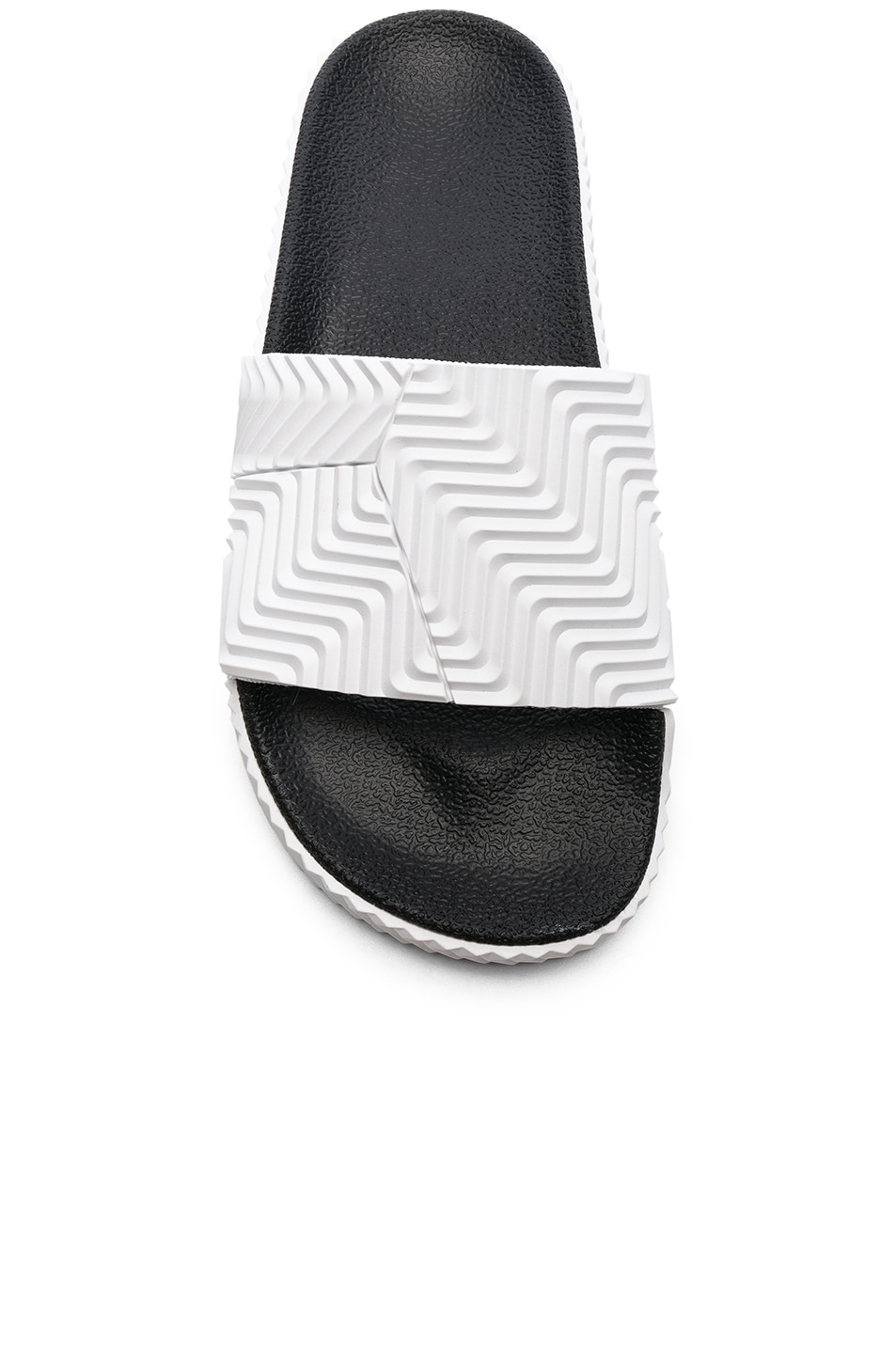 Image 4 of adidas by Alexander Wang Adilette Slides in White