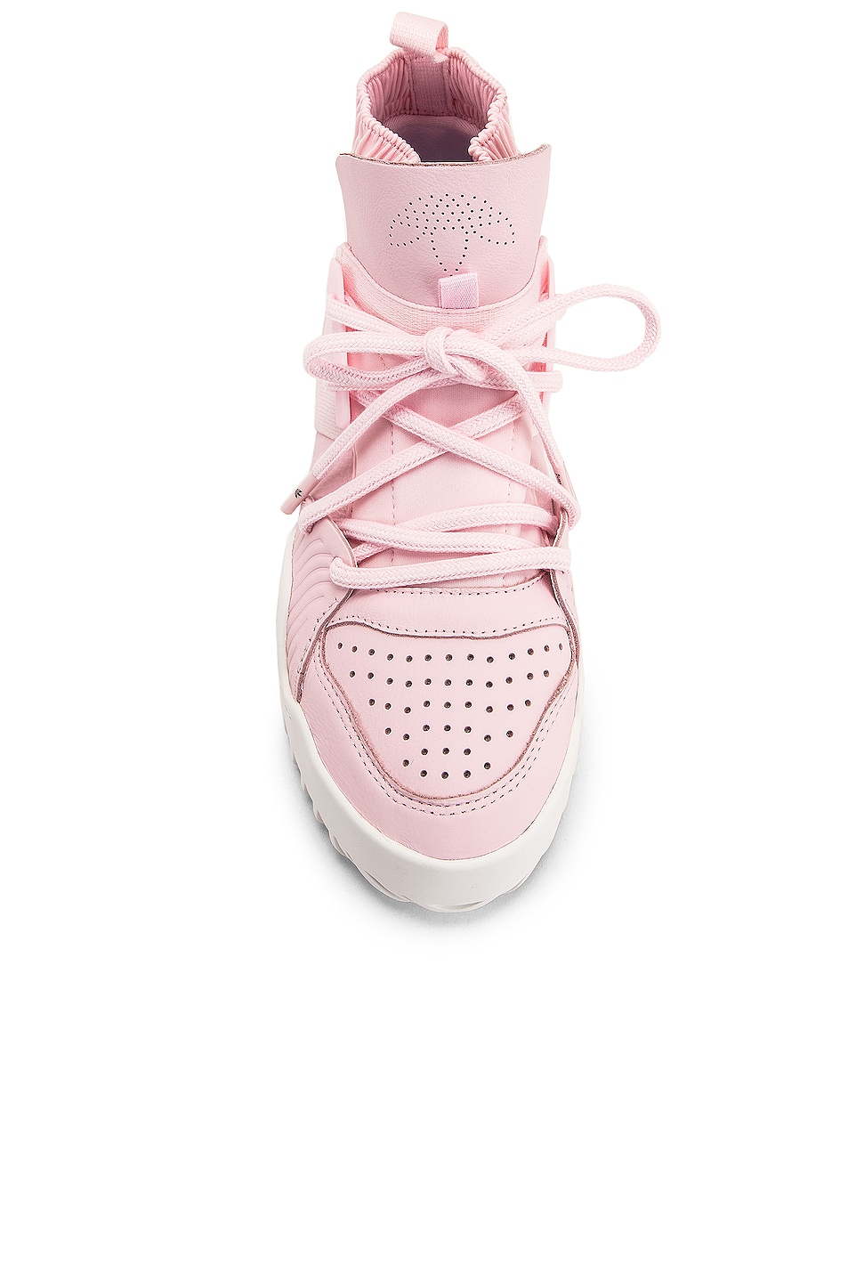 Image 4 of adidas by Alexander Wang B Ball Sneaker in Clear Pink & Core White