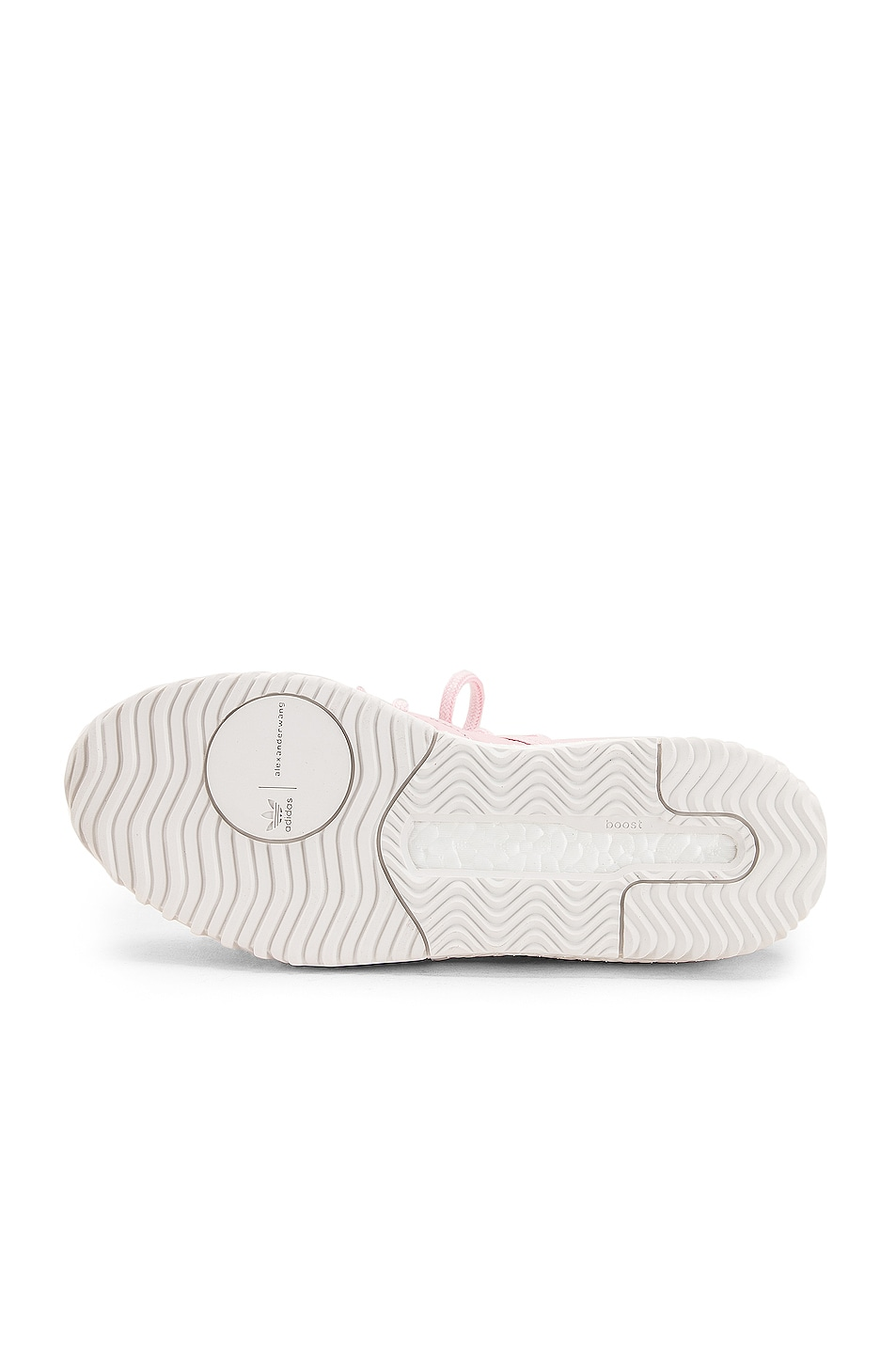 Image 6 of adidas by Alexander Wang B Ball Sneaker in Clear Pink & Core White