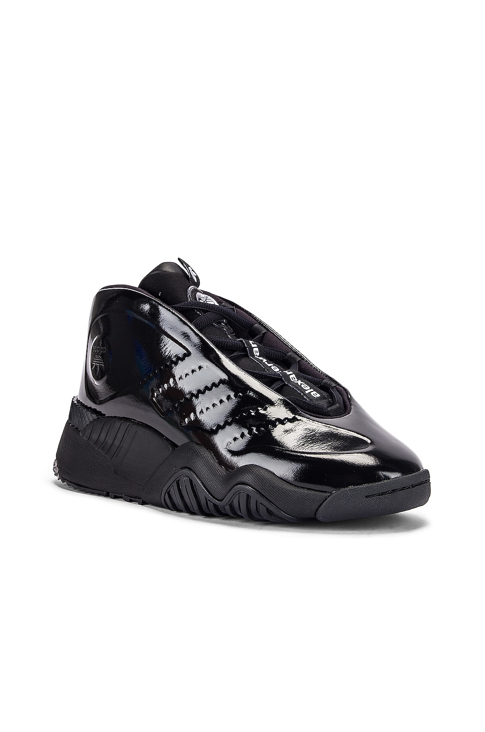 Image 2 of adidas by Alexander Wang Future Shell Sneaker in Core Black