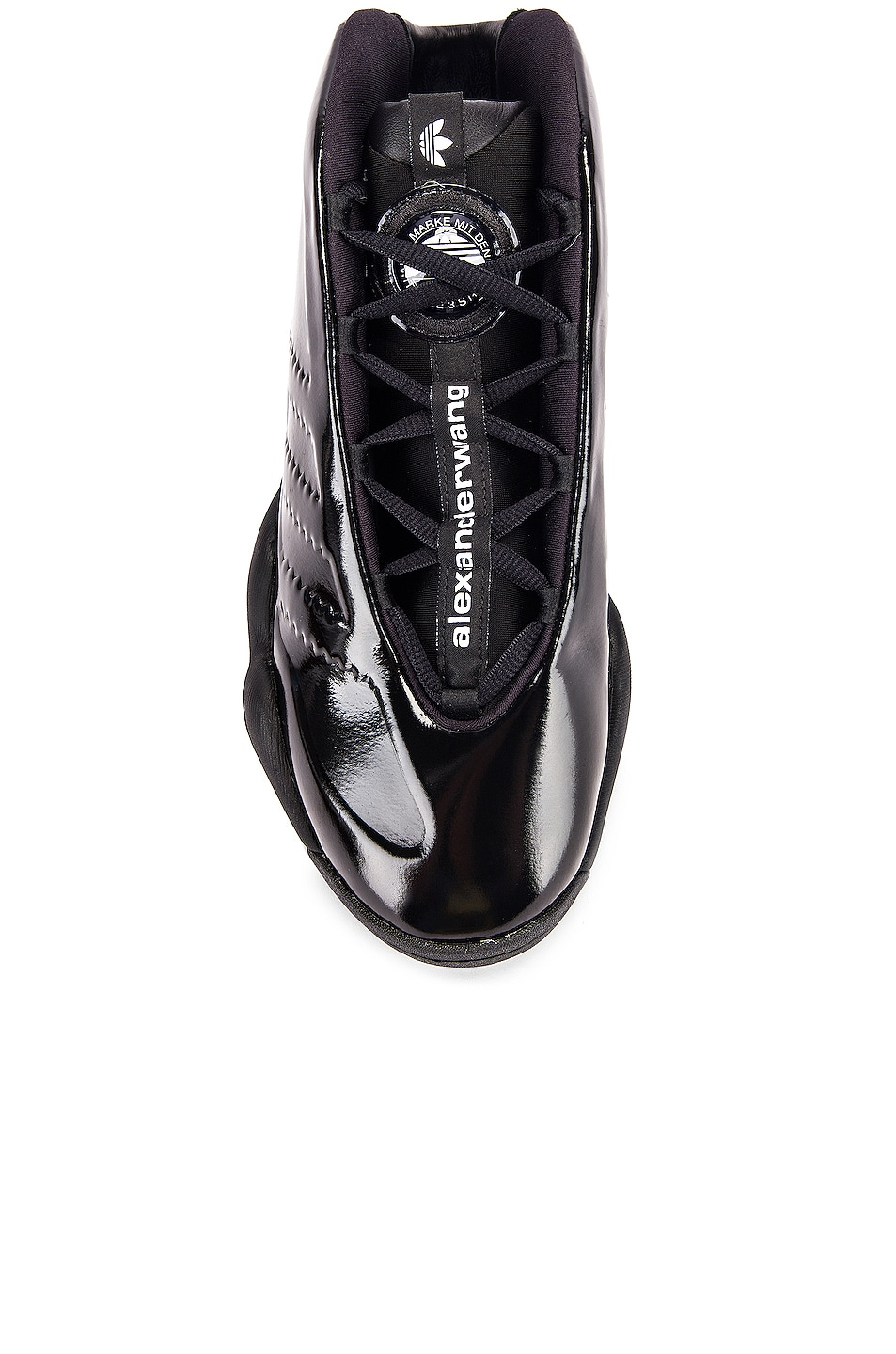 Image 4 of adidas by Alexander Wang Future Shell Sneaker in Core Black