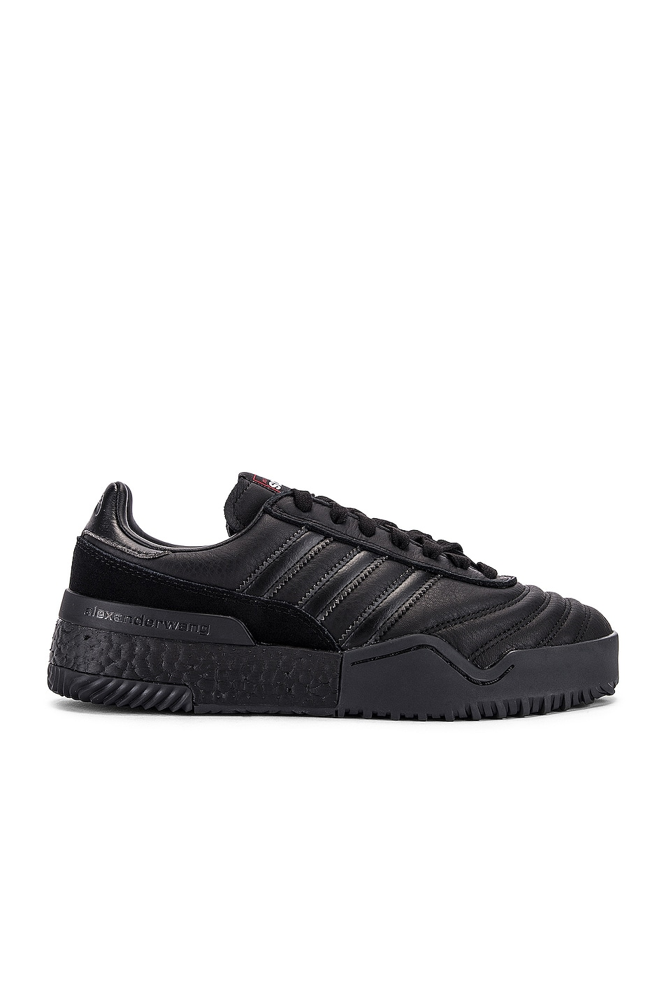 Image 1 of adidas by Alexander Wang AW Bball Soccer Sneaker in Core Black