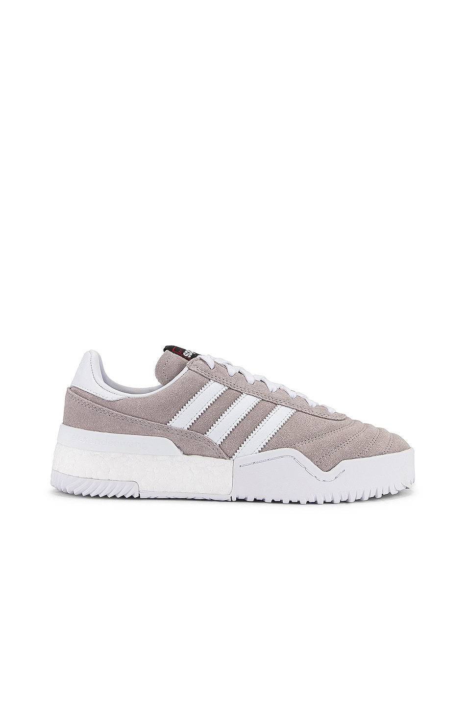 Image 1 of adidas by Alexander Wang AW Bball Soccer Sneaker in Clear Granite & Core White
