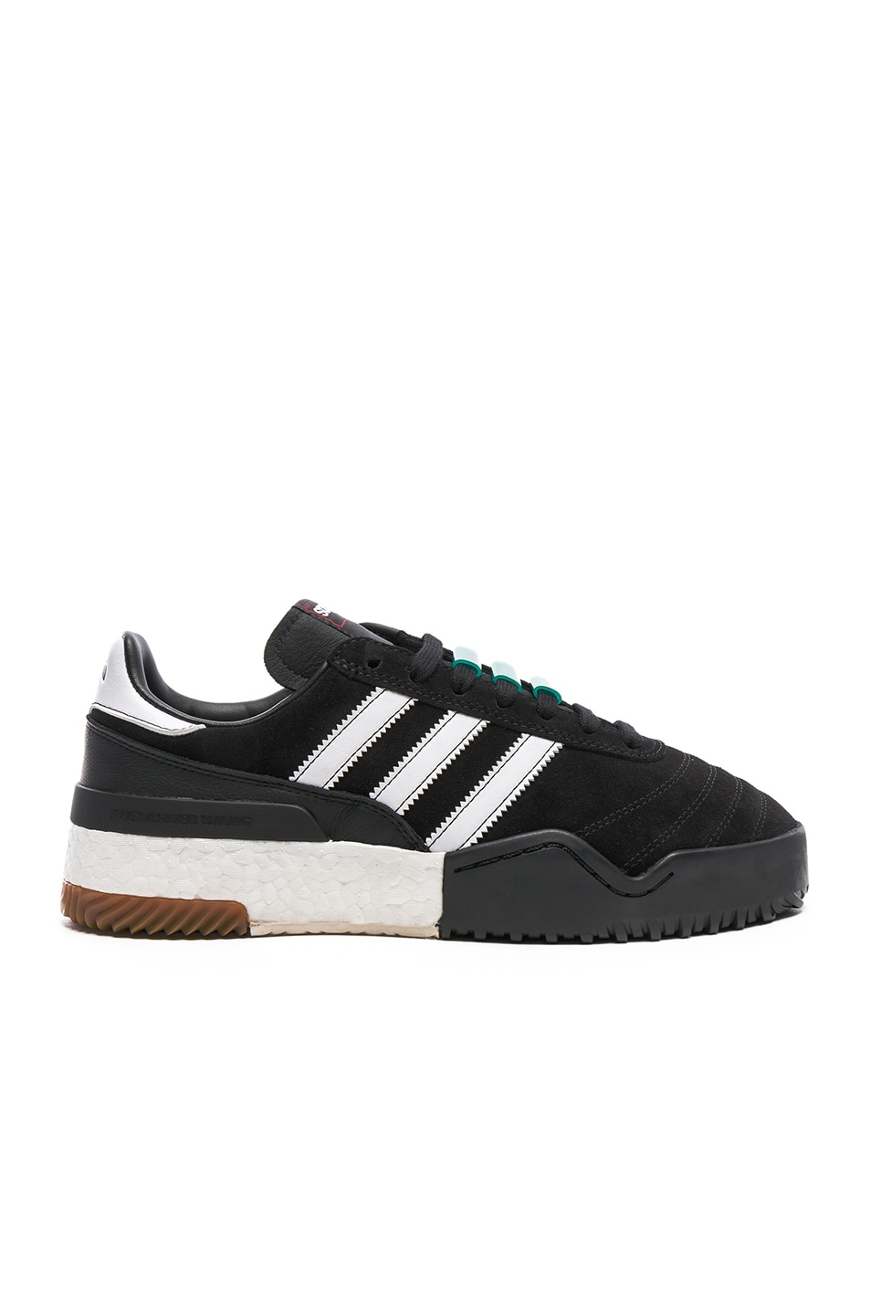 newest 92988 6f1e2 Image 1 of adidas by Alexander Wang Basketball Soccer Sneakers in Core Black,  White,