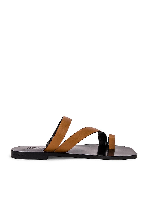 Image 1 of A.EMERY x Matteau Milos Sandal in Tan