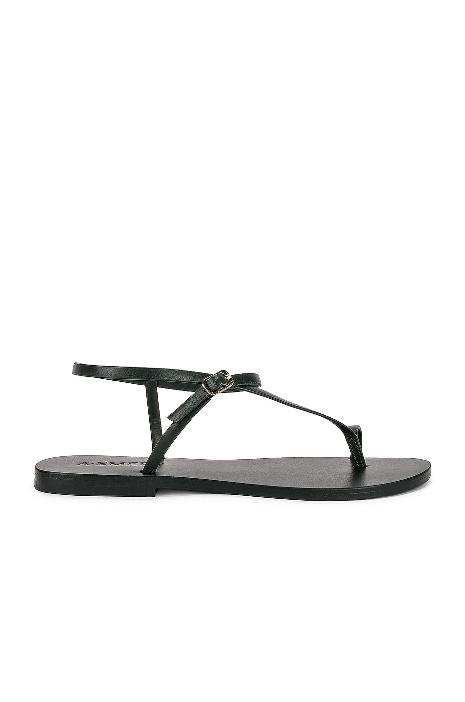Image 1 of A.EMERY Lily Sandal in Forest Green