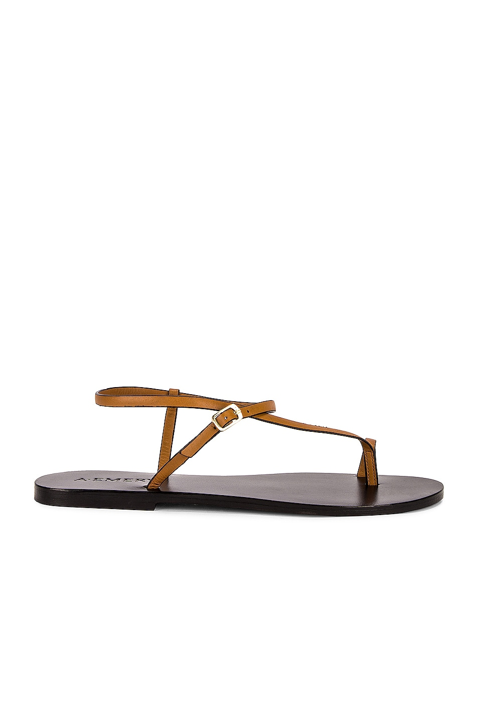 Image 1 of A.EMERY Lily Sandal in Tan & Black