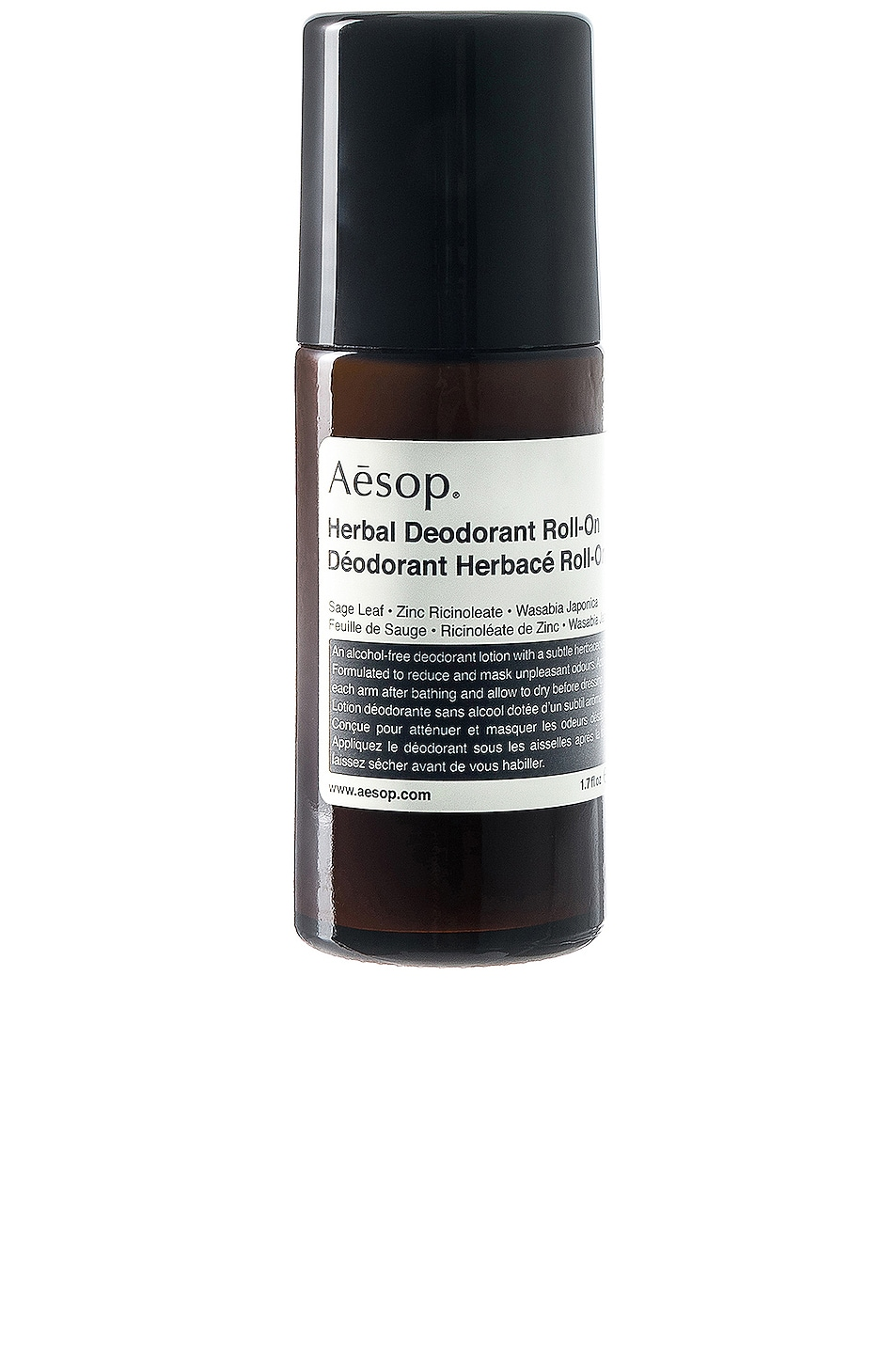 Image 1 of Aesop Herbal Roll-On Deodorant in
