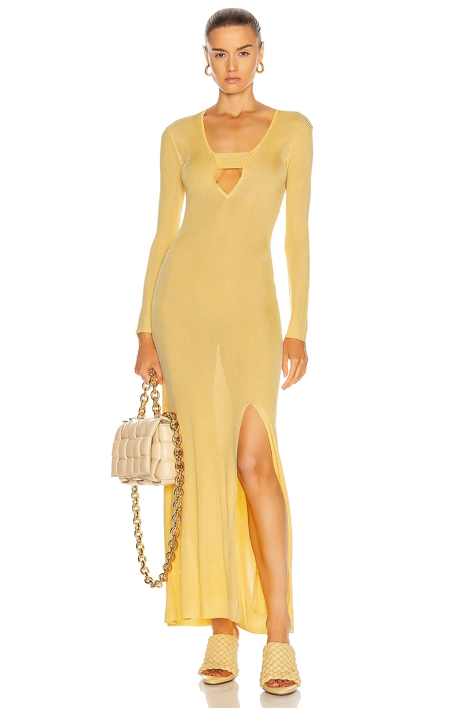 Image 1 of Auteur Stevie Dress in Yellow