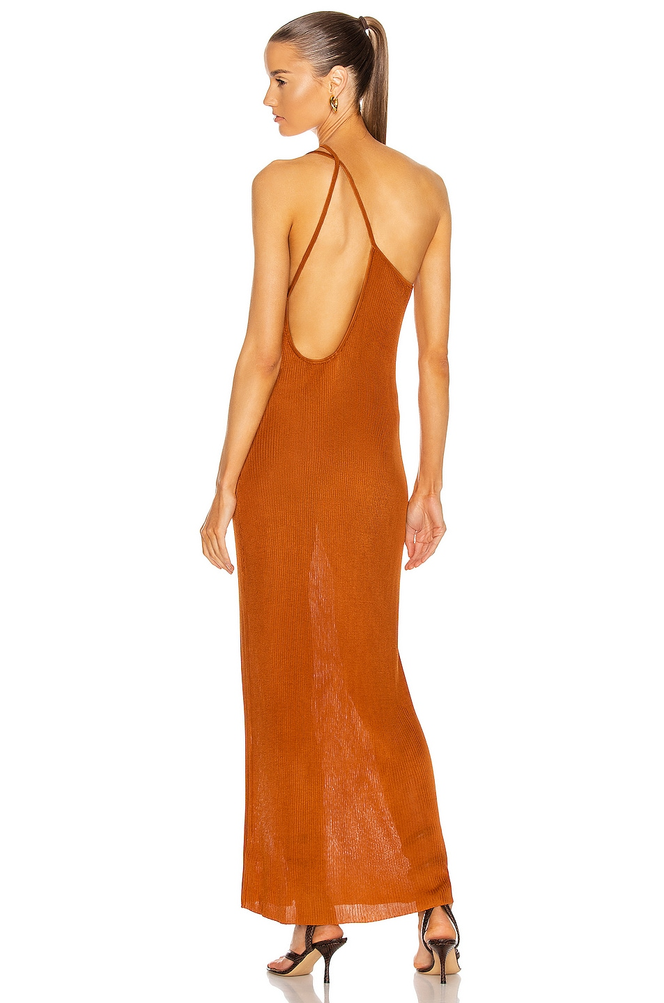 Image 1 of Auteur Nour Dress in Tan