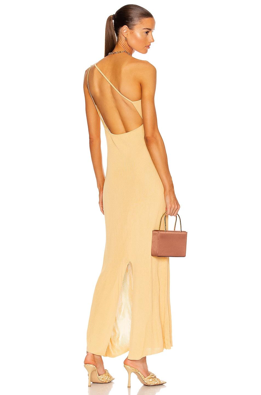 Image 1 of Auteur Joan Dress in Mustard