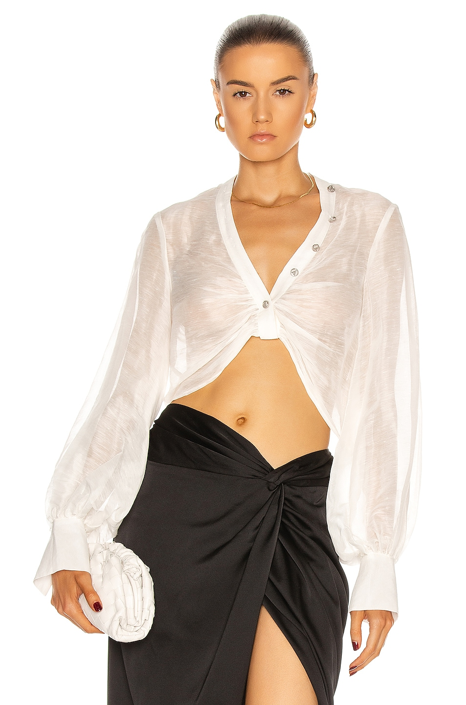 Image 1 of Auteur Madison Top in White