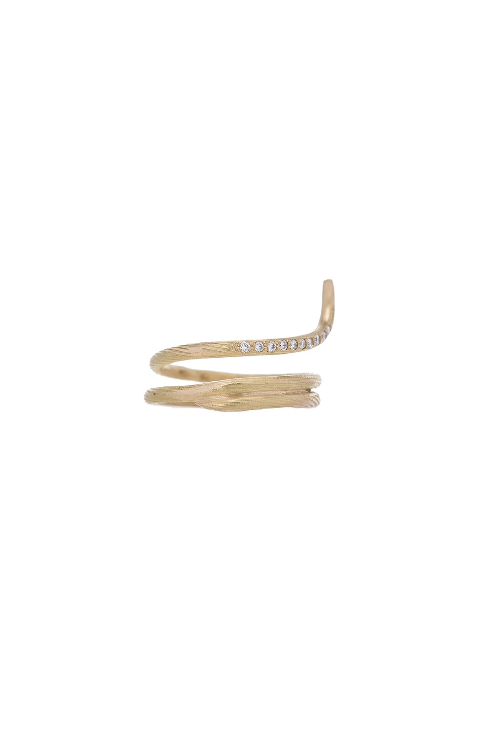 Image 1 of Afin Atelier Fishtail Classic Ring in Gold
