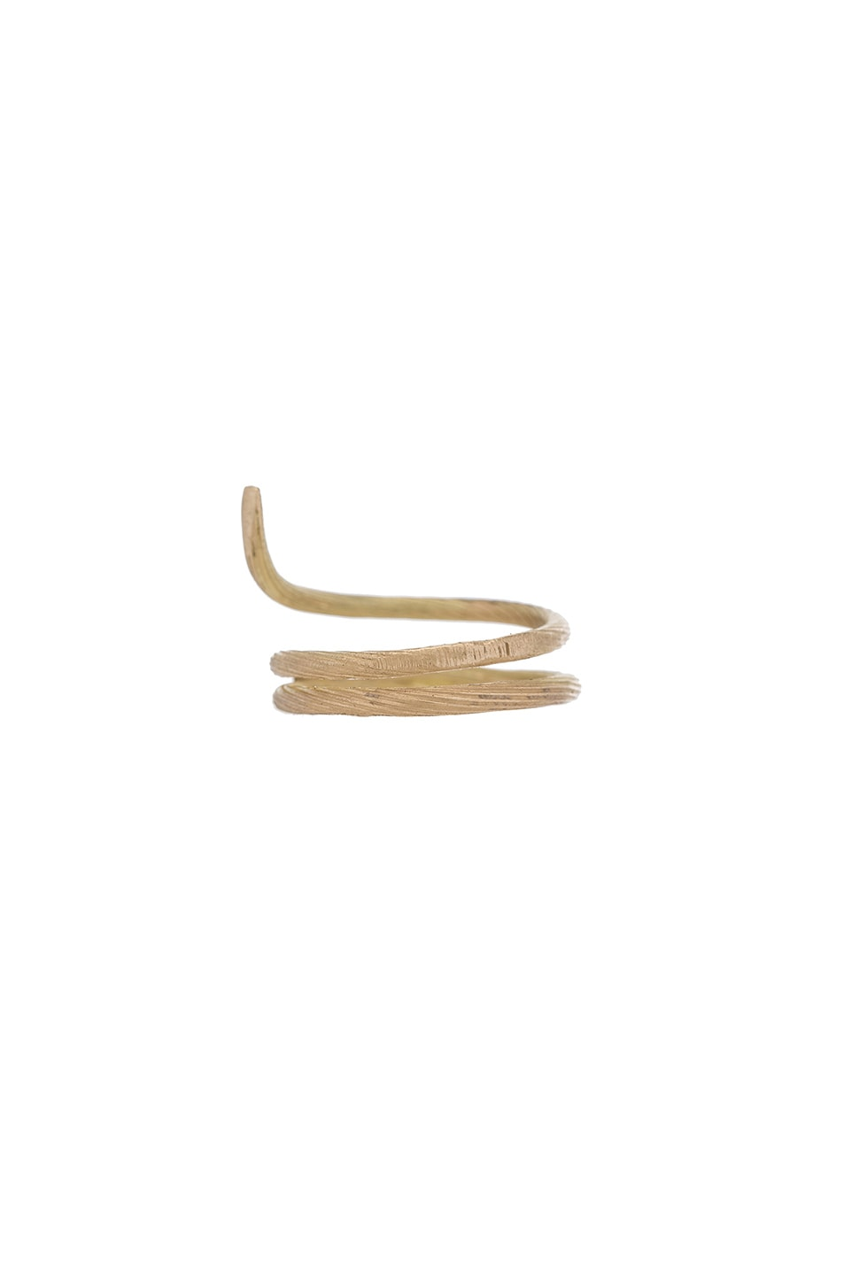 Image 3 of Afin Atelier Fishtail Classic Ring in Gold