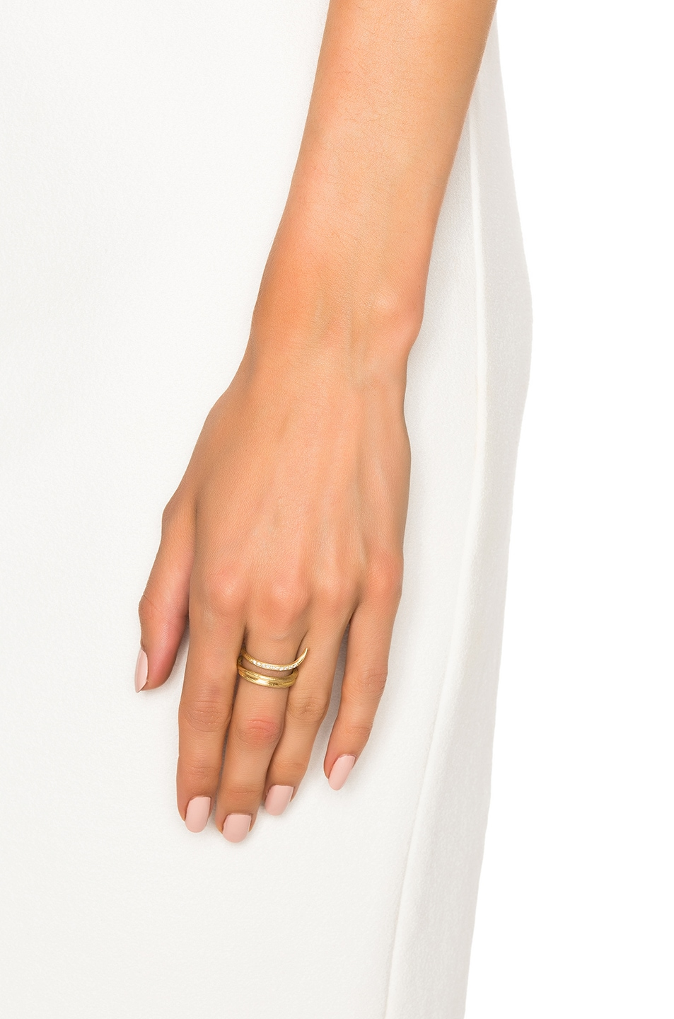 Afin Atelier Fishtail Classic Ring in Metallics g2mibd6rM