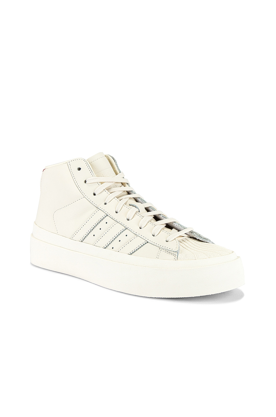 Image 1 of adidas x 424 Pro Model 80S in Chalk White & Chalk White & Chalk White