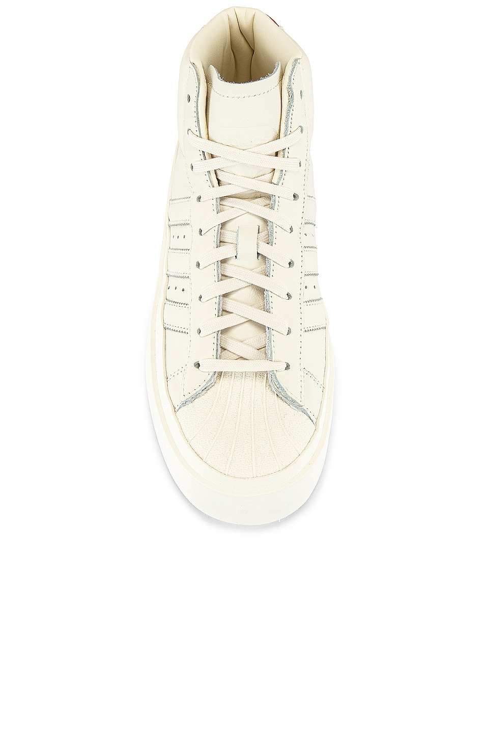 Image 4 of adidas x 424 Pro Model 80S in Chalk White & Chalk White & Chalk White