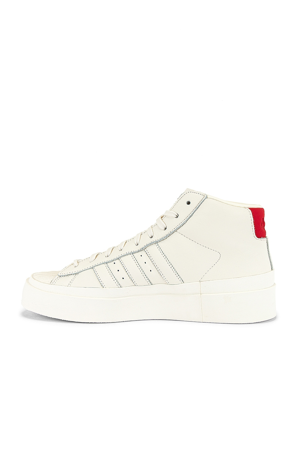 Image 5 of adidas x 424 Pro Model 80S in Chalk White & Chalk White & Chalk White