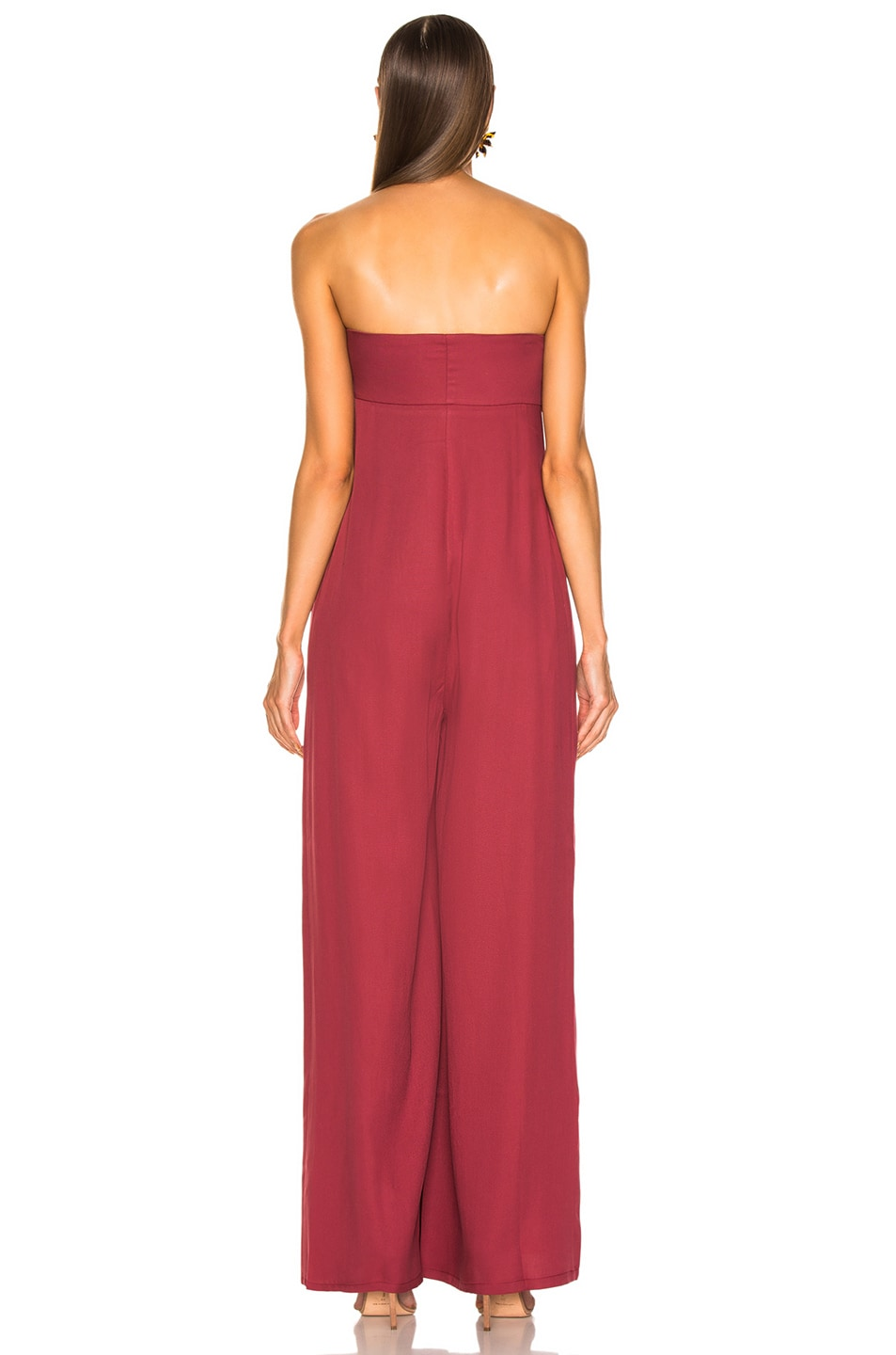Image 4 of Atoir Save This Heart Jumpsuit in Cranberry