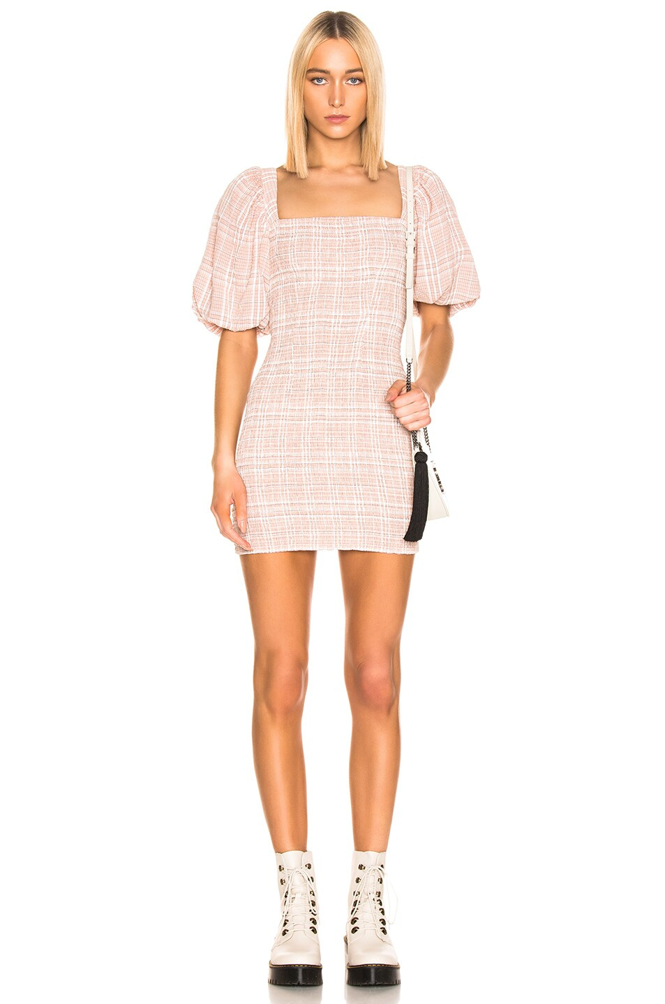Image 1 of Atoir Fool To Love Dress in Pink Check