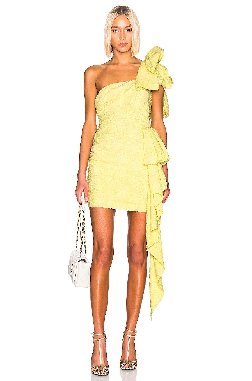 Image 1 of Atoir Guiding Light Dress in Lemon
