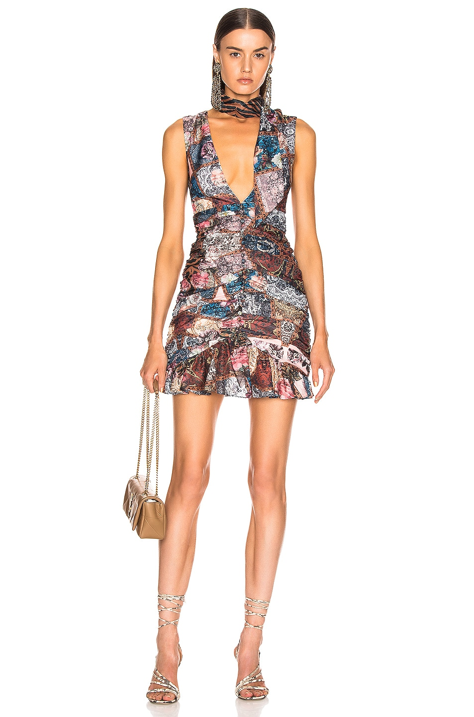 Image 1 of Atoir Stay With Me Dress in Patch Print