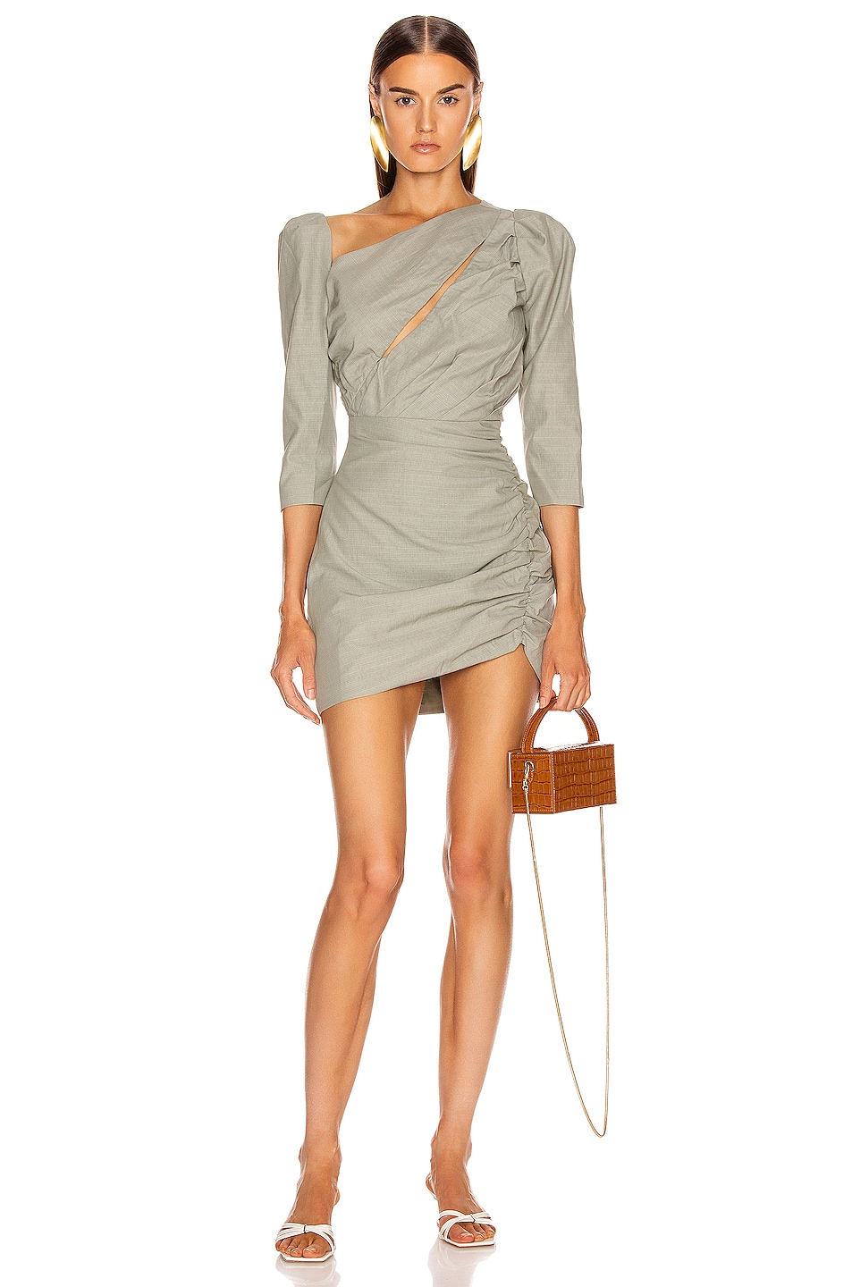 Image 1 of Atoir Perfect Places Dress in Olive