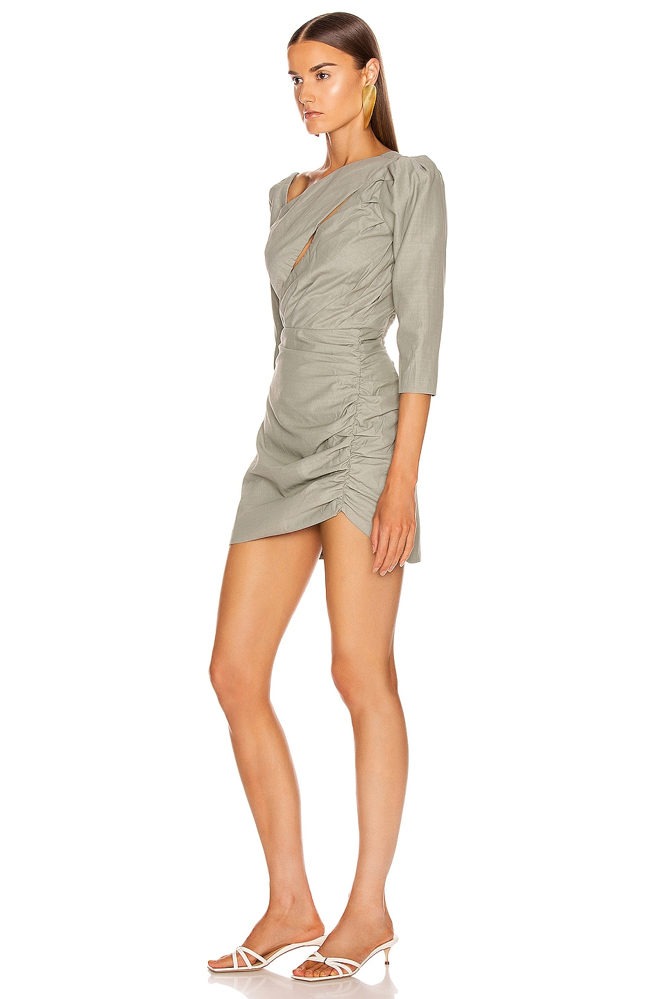 Image 3 of Atoir Perfect Places Dress in Olive