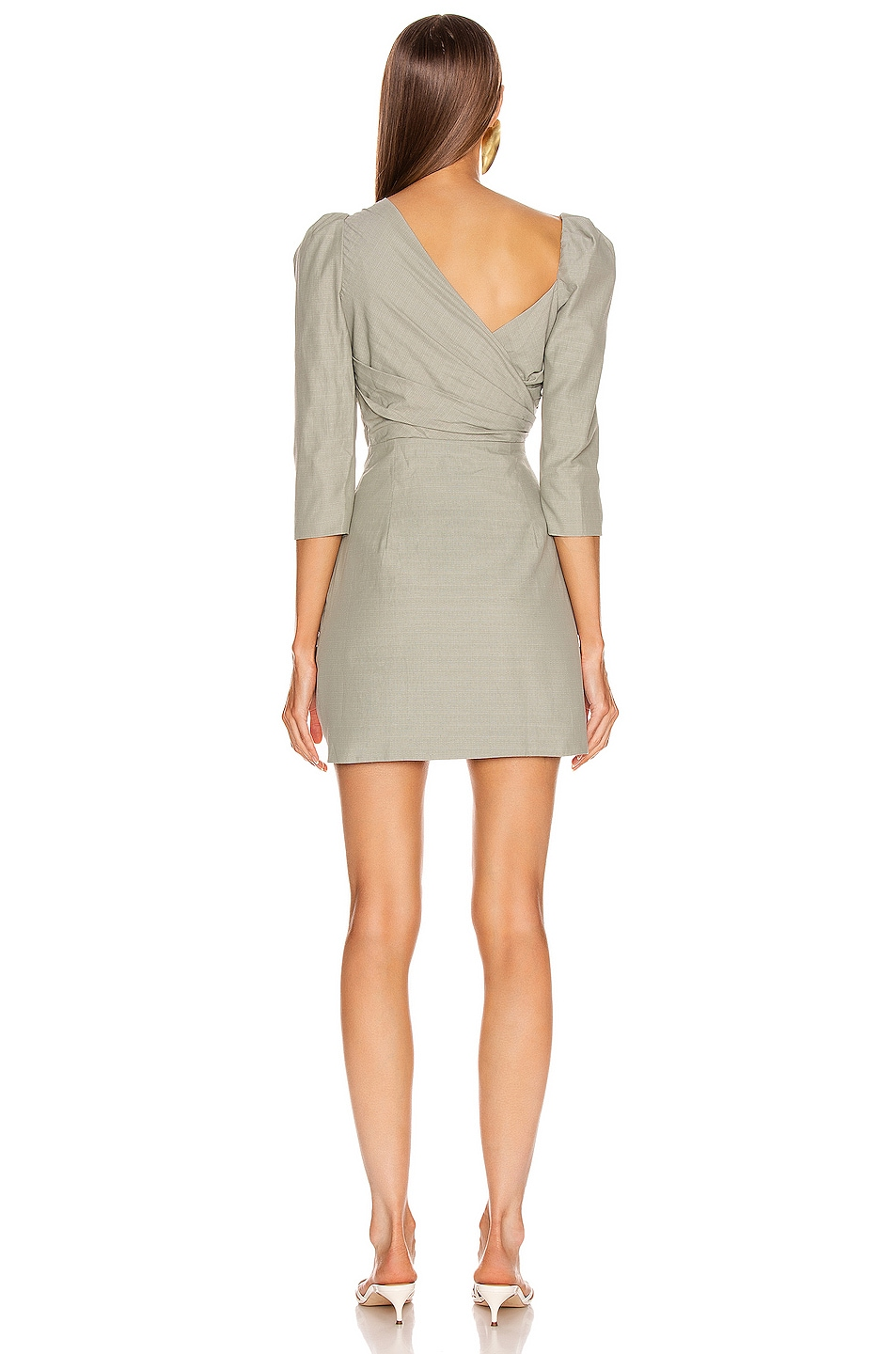 Image 4 of Atoir Perfect Places Dress in Olive