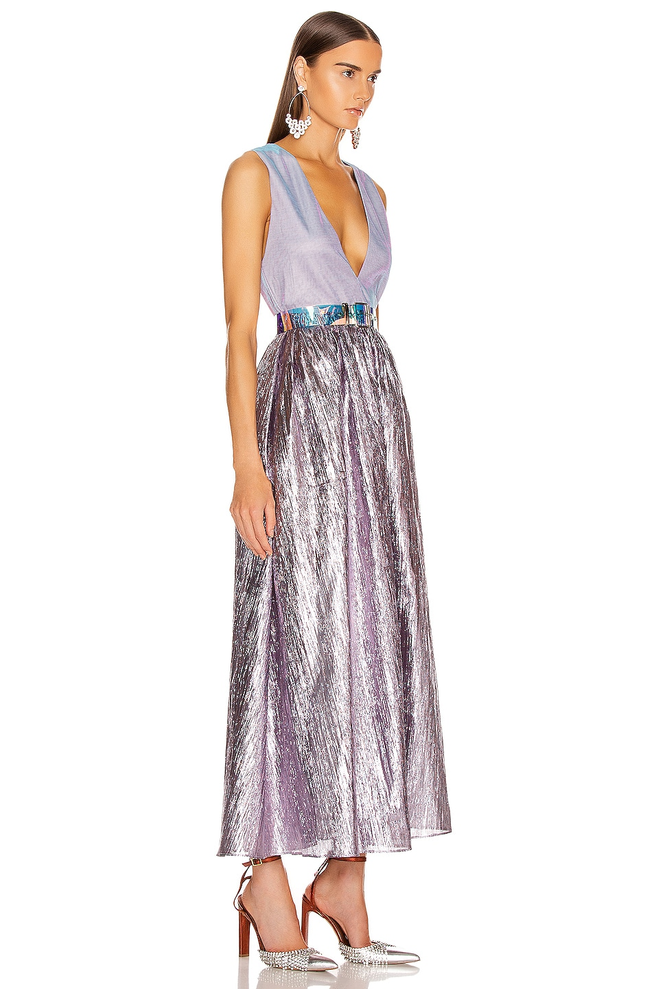 Image 2 of Atoir Kind of Bliss Dress in Lilac & Purple