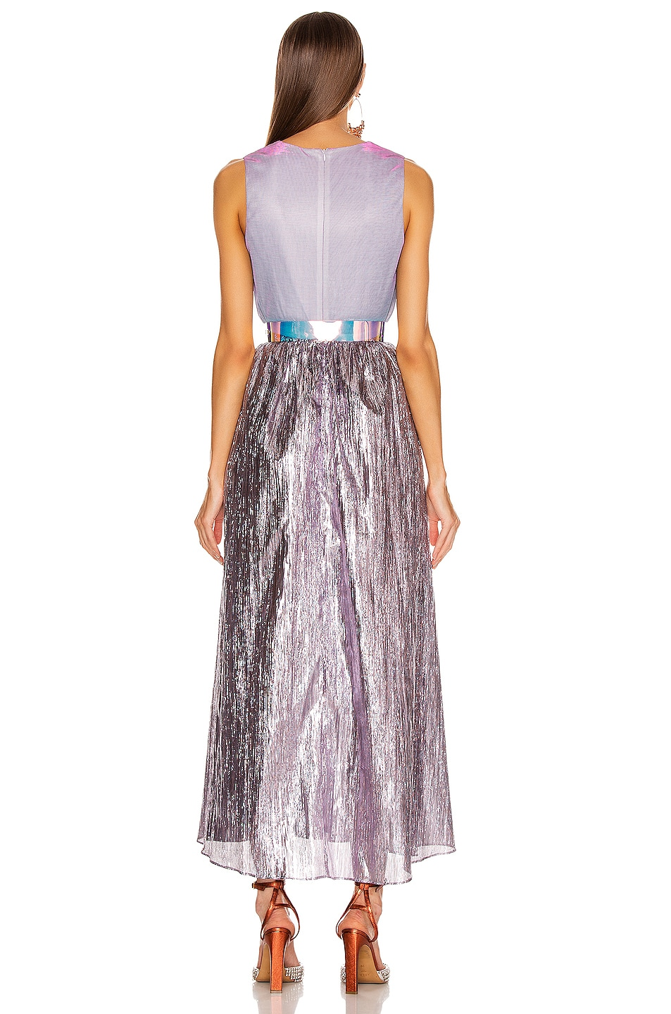 Image 3 of Atoir Kind of Bliss Dress in Lilac & Purple