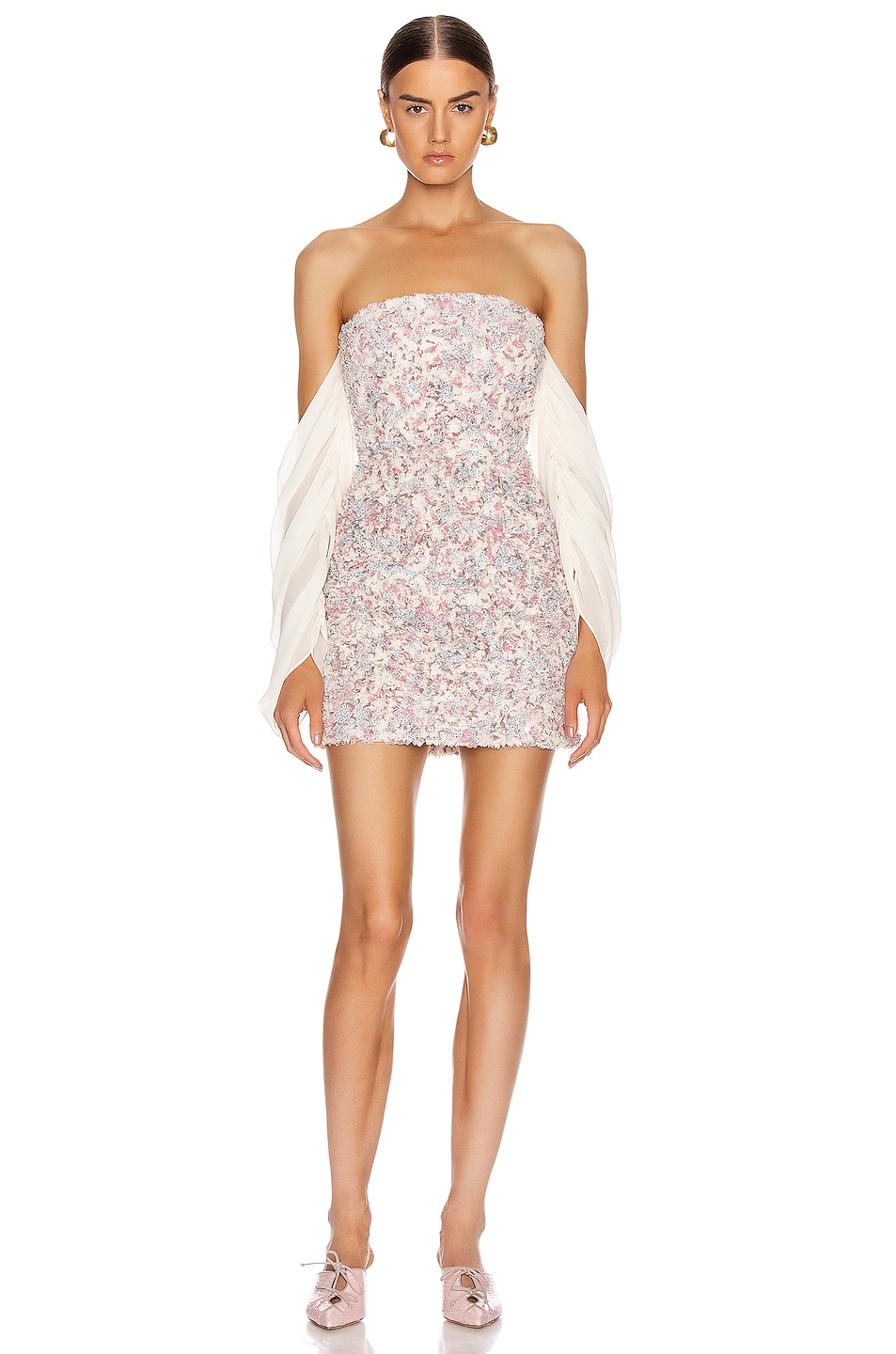 Image 1 of Atoir Chasing Highs Dress in Orchid Floral