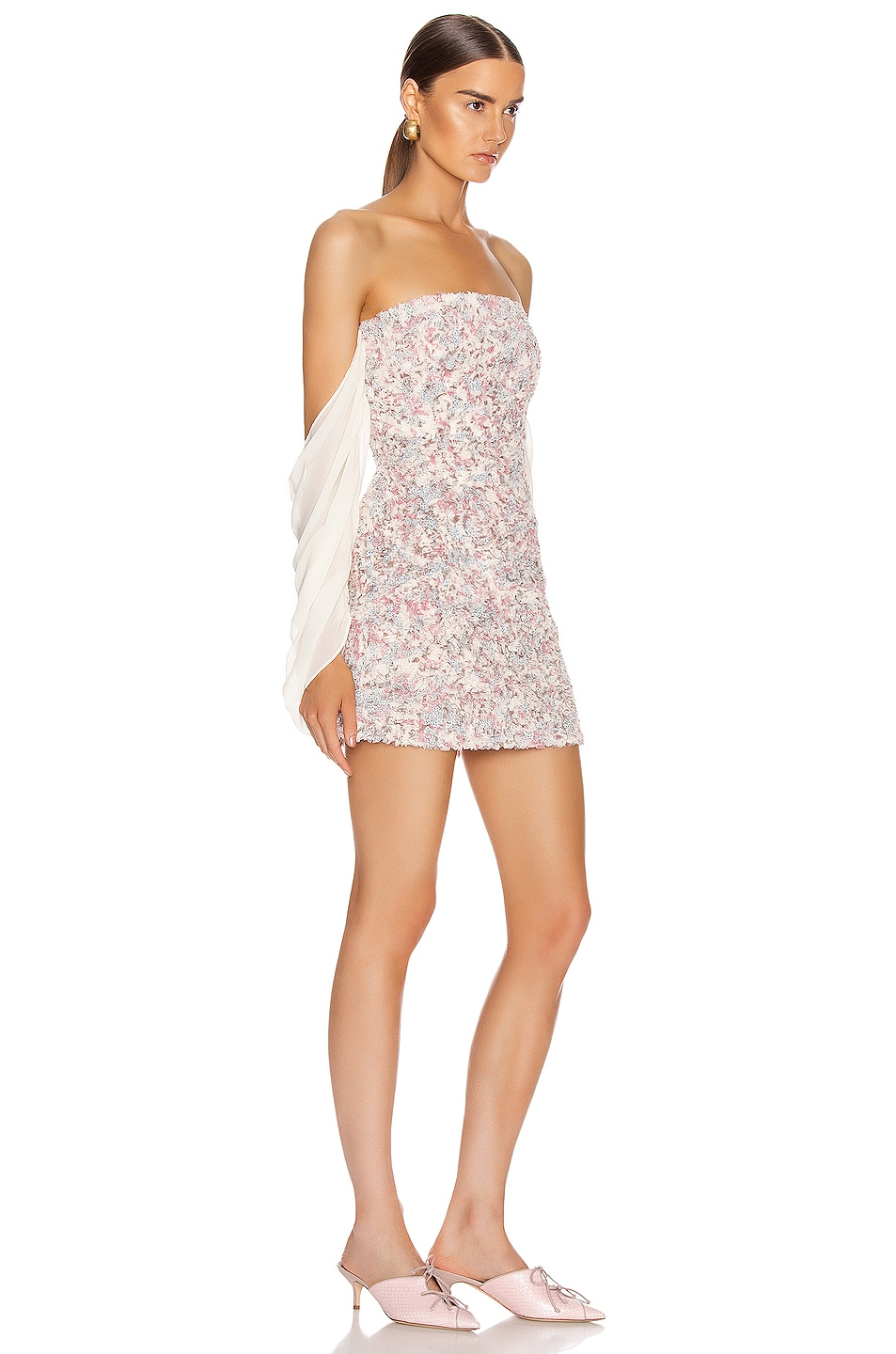 Image 2 of Atoir Chasing Highs Dress in Orchid Floral