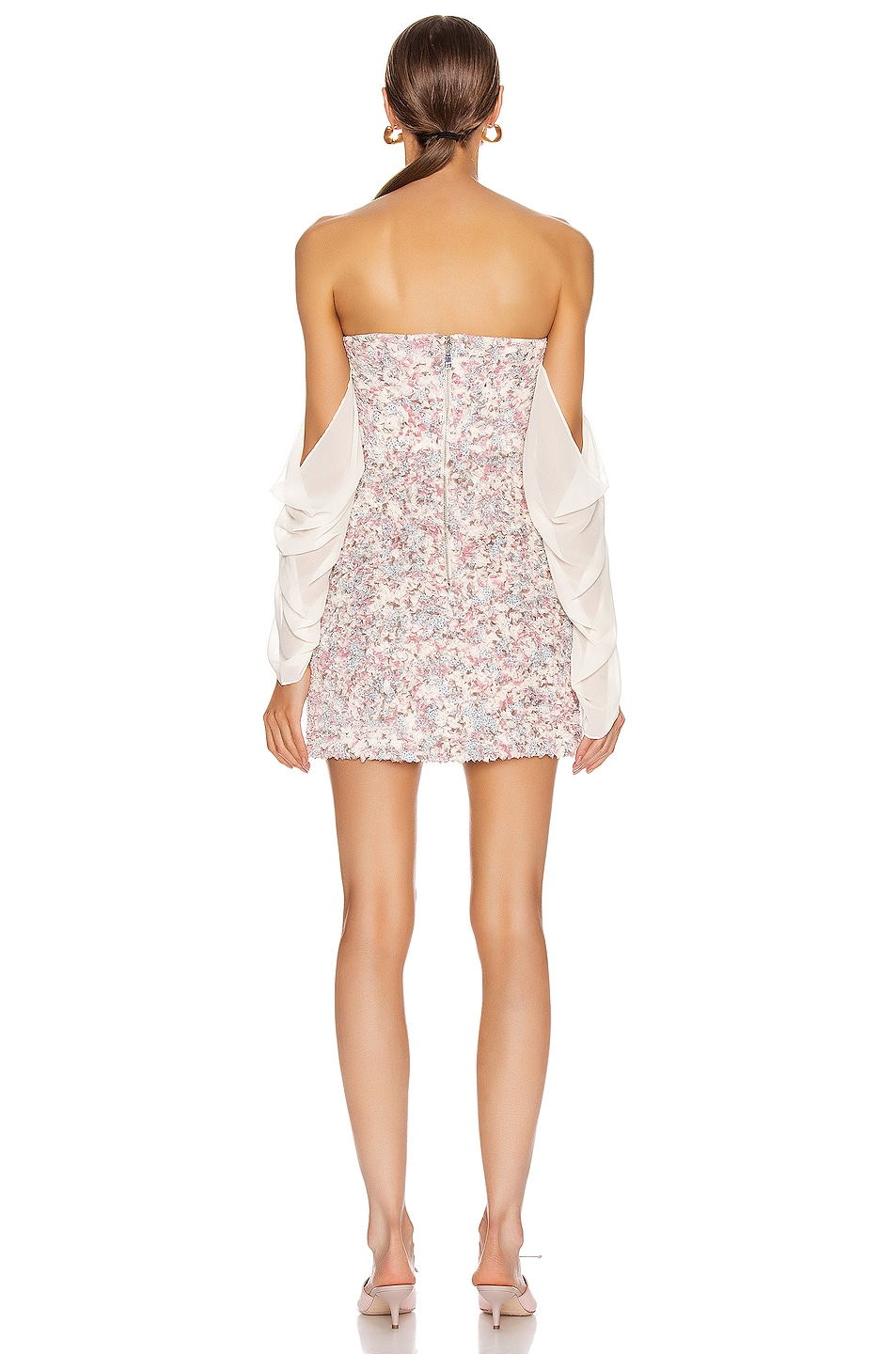 Image 3 of Atoir Chasing Highs Dress in Orchid Floral