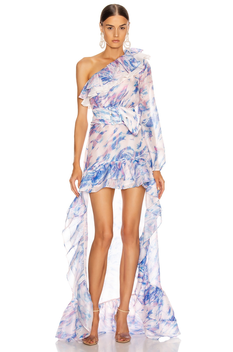 Image 1 of Atoir The Whirlwind Dress in Dreamscape Print