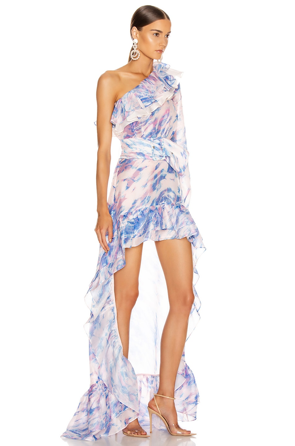 Image 2 of Atoir The Whirlwind Dress in Dreamscape Print