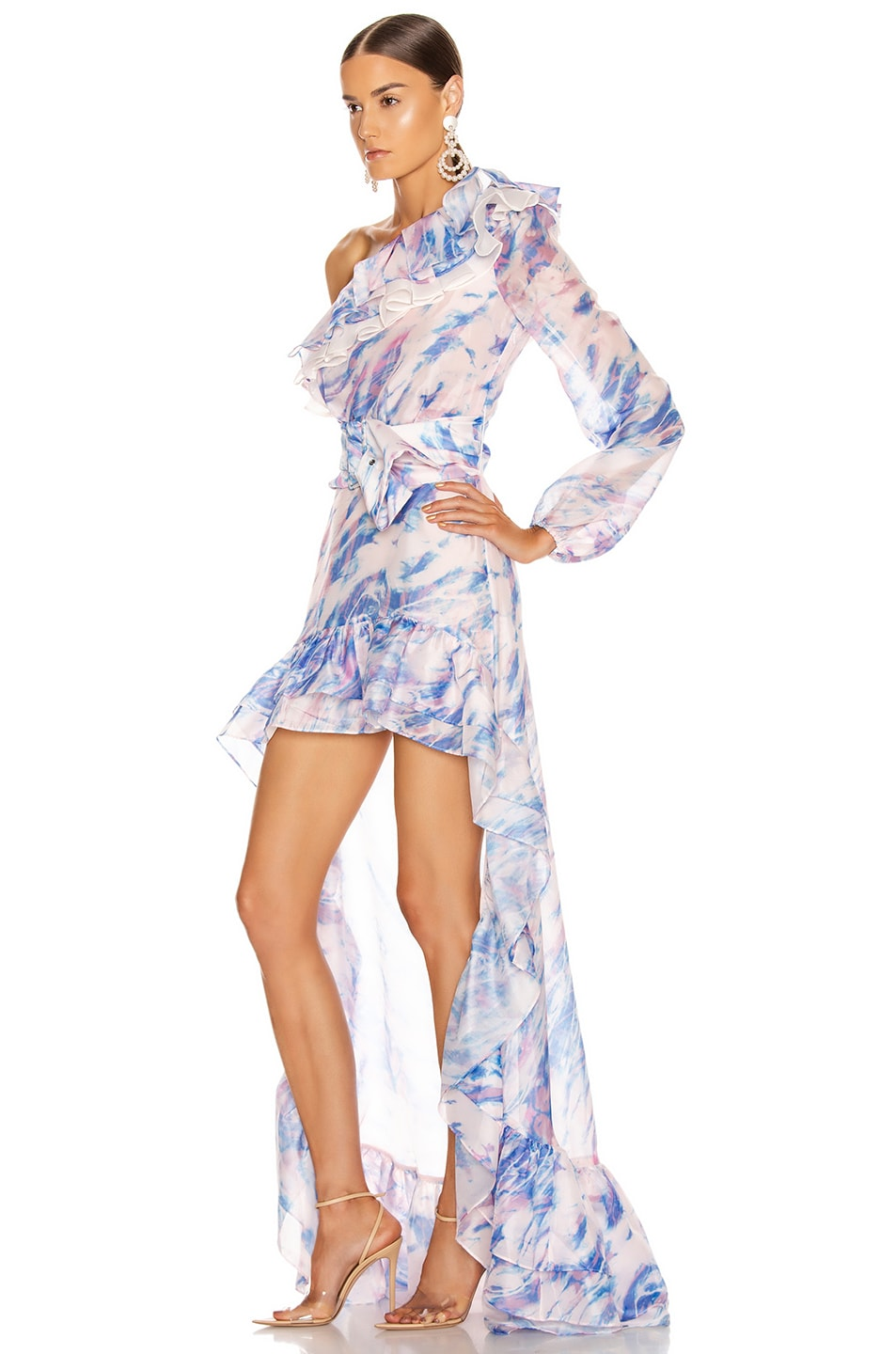 Image 3 of Atoir The Whirlwind Dress in Dreamscape Print