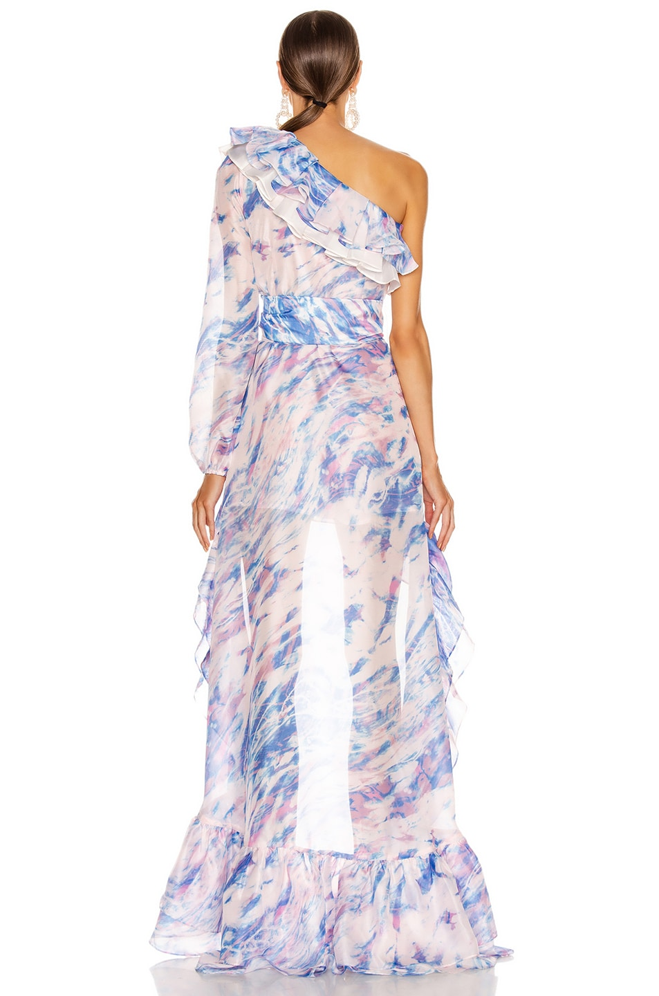 Image 4 of Atoir The Whirlwind Dress in Dreamscape Print