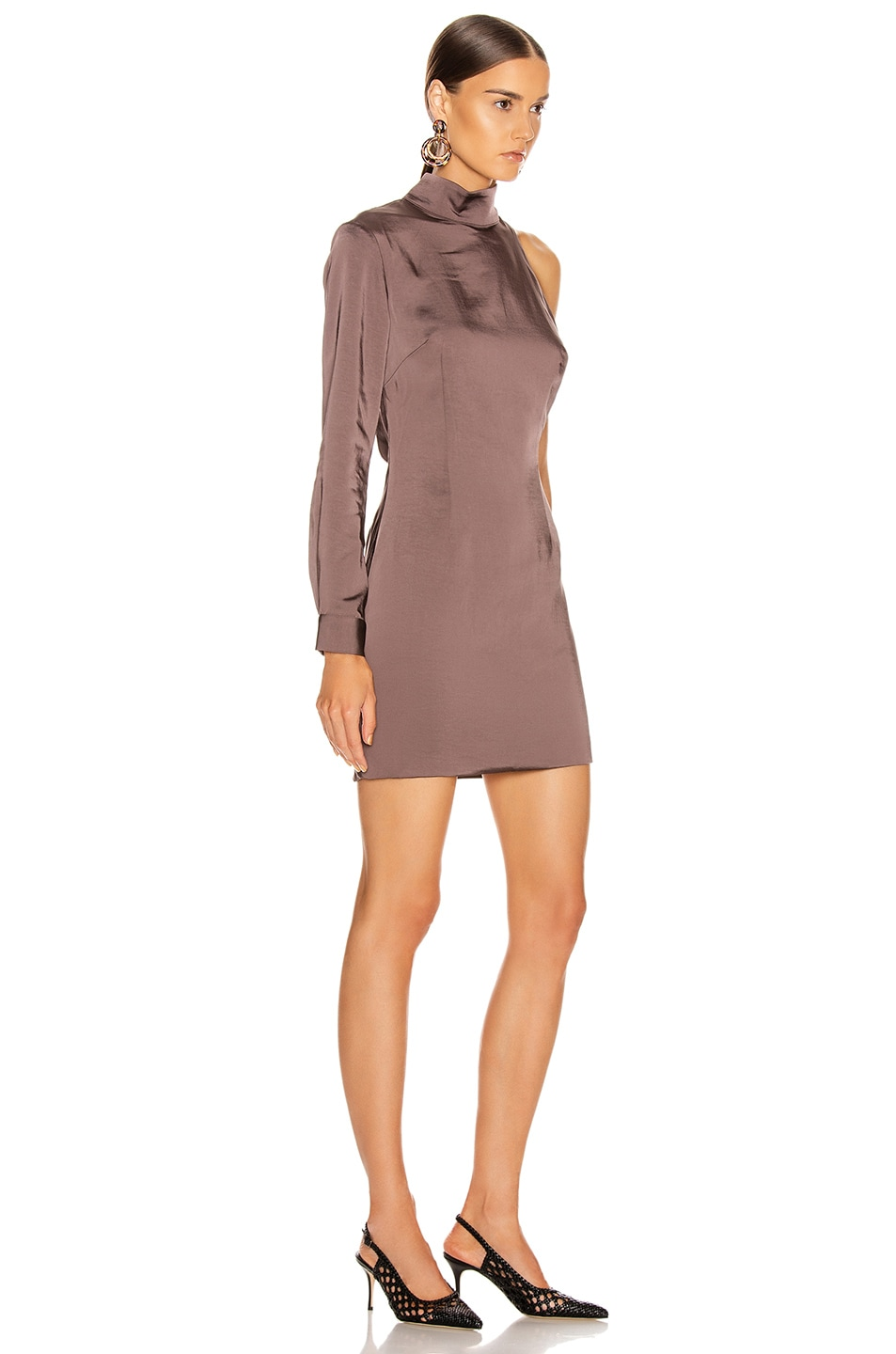 Image 2 of Atoir Negative Spaces Dress in Chocolate