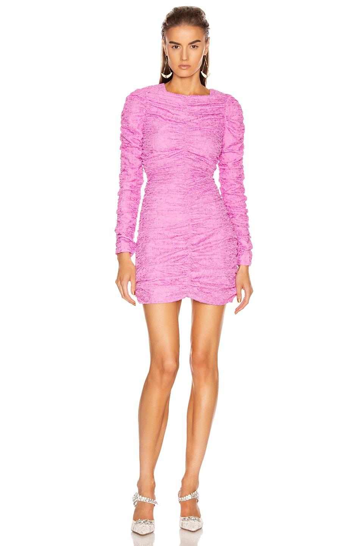 Image 1 of Atoir Starlight Dress in Fuchsia Pink