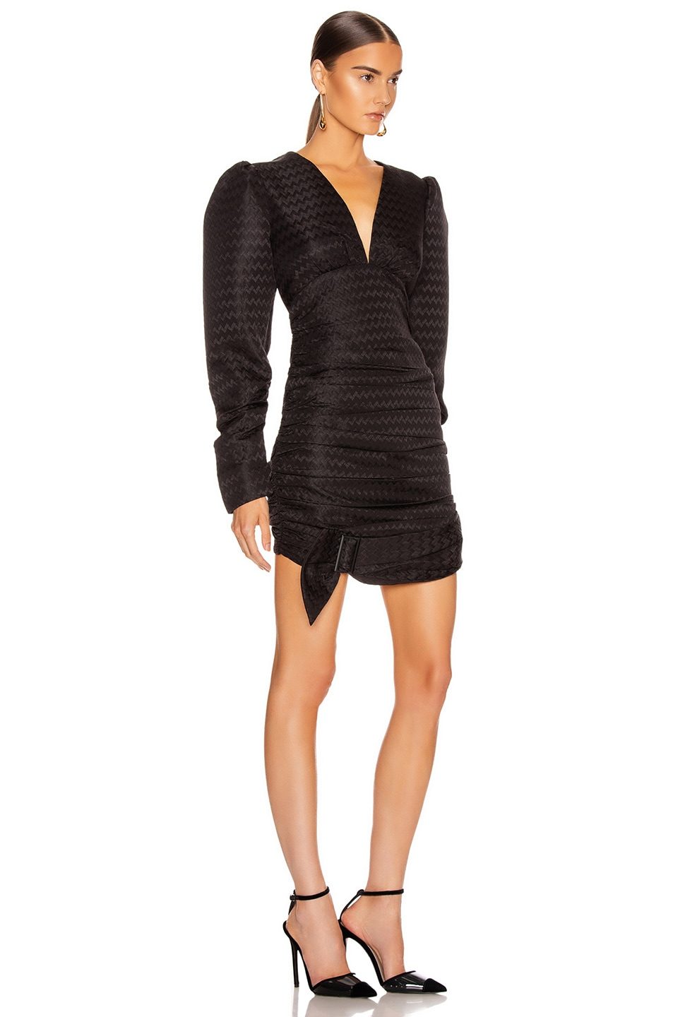 Image 2 of Atoir Was Loved Dress in Embossed Black
