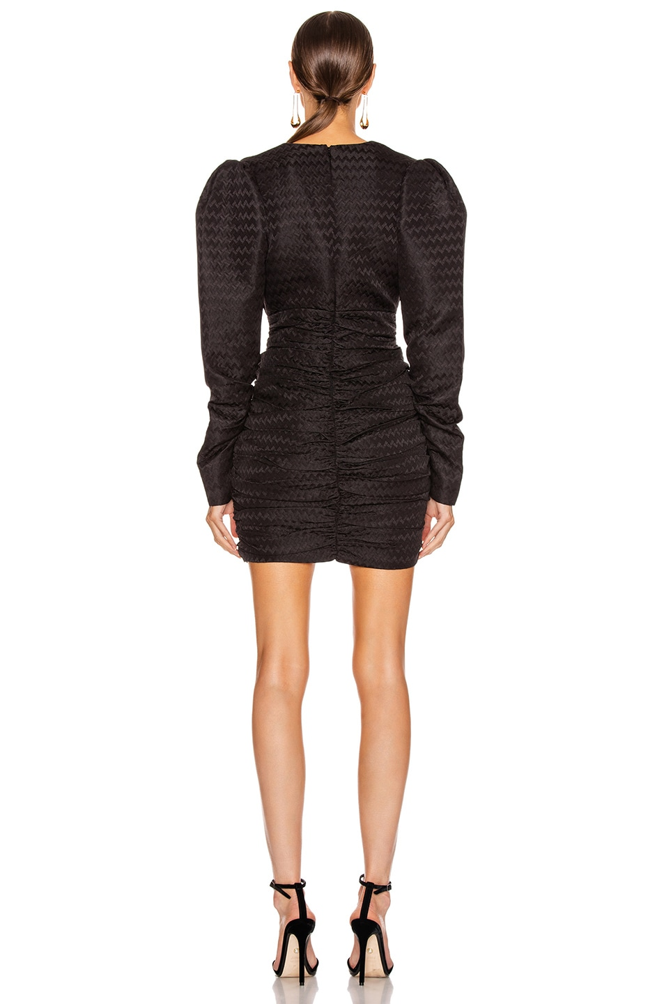 Image 3 of Atoir Was Loved Dress in Embossed Black